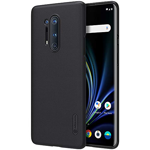 Oneplus 8 Pro Case, Nillkin Frosted Shield Hard Slim Case Back Cover for Oneplus 8 Pro - Black