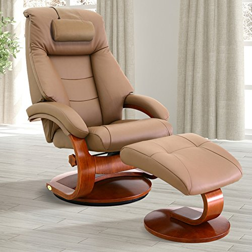 - Oslo Collection 58-LO3-24-103-CP Mac Motion Recliner, One Size, Sand/Tan