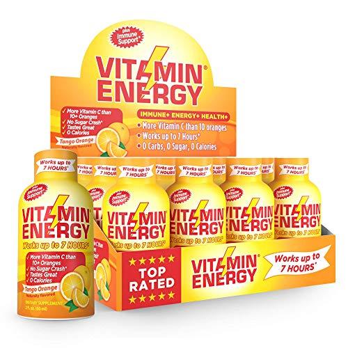 Vitamin Energy Shots Oranges Calories