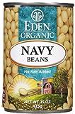 Eden Organic Navy Beans, No Salt Added, 15 oz