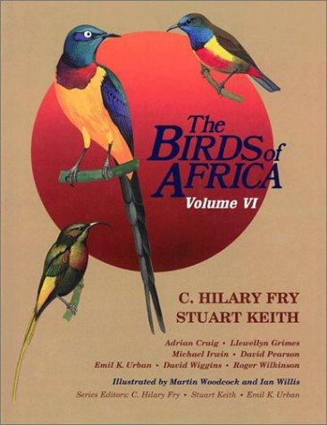 6: Birds of Africa, Volume VI by Brand: Academic Press