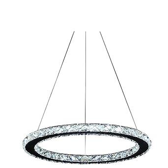 Lonfenner Edelstahl Moderne Wohnzimmer Kronleuchter Kristall Kronleuchter  Led 3 Linie Schlafzimmer Einfach Decke Lampe Kristall