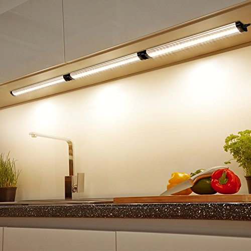 Philips 35000000603 Led Under Cabinet Light: Albrillo LED Under Cabinet Lighting Dimmable Warm White