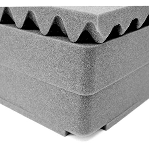 Pelican 1671 Replacement Foam Set for 1670 Large Case, 4 Pie