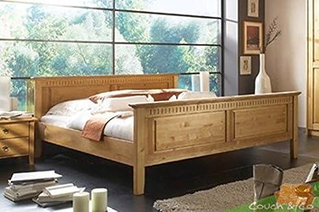 Letto Rustico Legno : Letto matrimoniale rustico in legno massiccio letto merano x