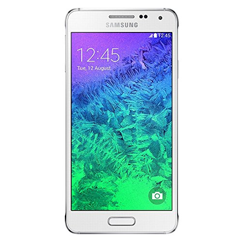 Samsung Galaxy Alpha G850a Unlocked Cellphone, 32GB, Dazzling White (Samsung Phone Cell Unlock)