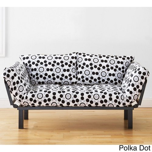 Alder Set Bed - Somette Eli Spacely Multi-Flex Daybed Lounger with Mattress and Pilllow Set Polka Dot