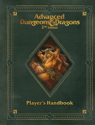 Premium 2nd Edition Advanced Dungeons & Dragons Player's Handbook (D&D Core Rulebook)