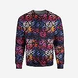 Men's Crewneck Animal Pullover Sweater