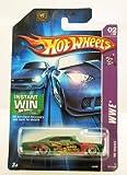 Mattel Hot Wheels 2006 1:64 Scale WWE Eddie Guerrero Green Slammed 1965 Impala Die Cast Car #107