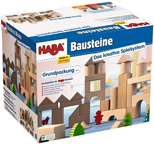 HABA Basic Building Blocks 26 Piece Starter Set (Made in Germany)
