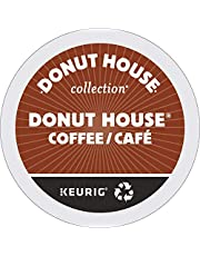 Donut House Collection Single Serve Keurig Certified Recyclable K-Cup Pods for Keurig Brewers, 30 Count