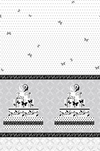 Victorian Wedding Plastic Tablecloth, 84