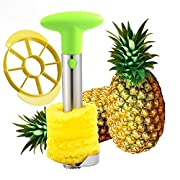 Amazon Lightning Deal 84% claimed: SameTech Easy Kitchen Tool Stainless Steel Fruit Pineapple Peeler Corer Slicer Cutter