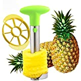 SameTech Easy Kitchen Tool Stainless Steel Fruit Pineapple Peeler Corer Slicer Cutter