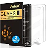 Ailun Screen Protector for iPod Touch 6 Touch 5,[3Pack],Curved Edge Tempered Glass for iPod Touch 6G/5G(6th/5th Generation),Anti-Scratch,Case Friendly,Siania Retail Package