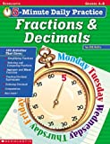 Fractions and Decimals, Jill Safro, 0439409179
