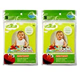 Neat Solutions Sesame Street Table Topper Disposable Stick-in-Place Placemats - 36 Count