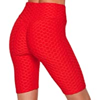 Forever Styles Co. Butt Lifting Leggings for Women High Waisted Textured Yoga Pants Tummy Control