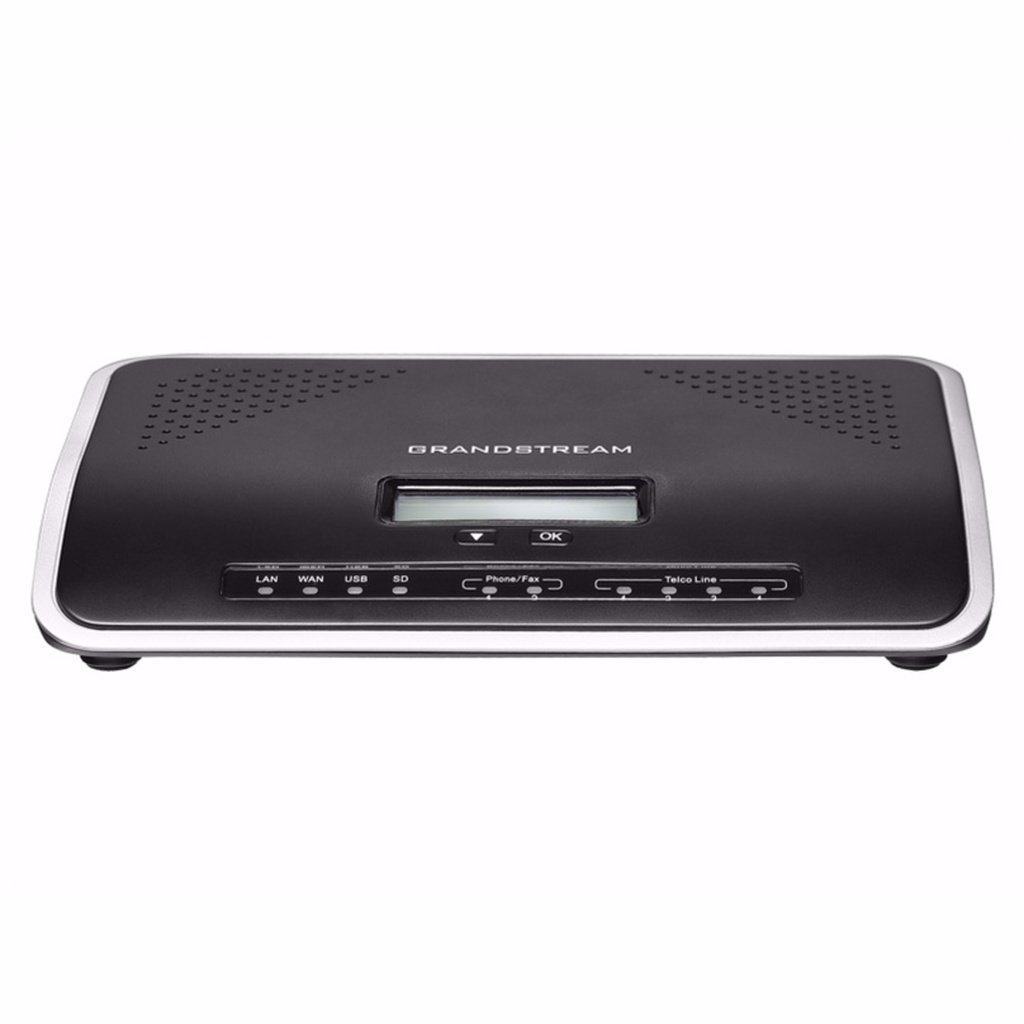 Grandstream UCM6204 Innovative IP PBX with 4 FXO and 2 FXS Ports by Grandstream