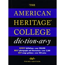 The American Heritage College Dictionary