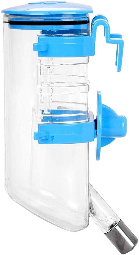 Botella de agua de 350 ml para gatos, perro, de plástico ...