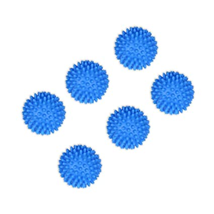 6 x Azul Lavadora Secadora de ropa Bola Sin productos químicos ...