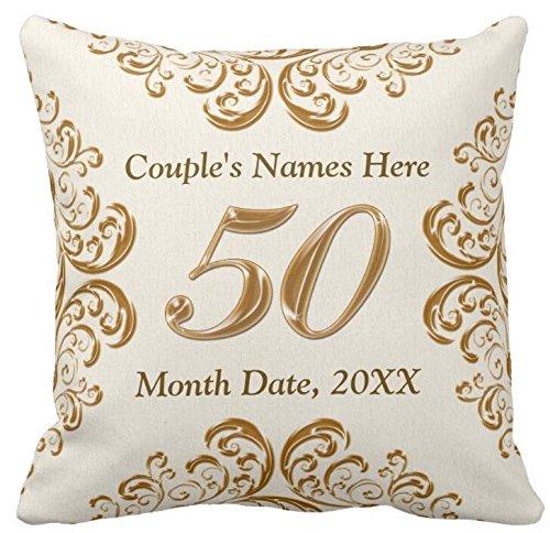50th Anniversary Pillow - 5