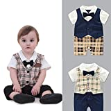 Fairy Baby Summer Baby Boy Gentleman Outfit