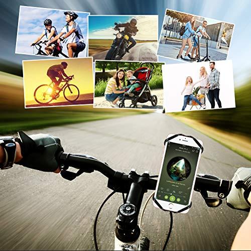 HOTERB Handyhalterung Fahrrad, Fahrrad Handyhalterung 360°Verstellbare Handy Halterung für Fahrrad Universal Handy Fahrradhalterung, Handyhalterung Motorrad Für 4-6.8 Zoll Smartphone
