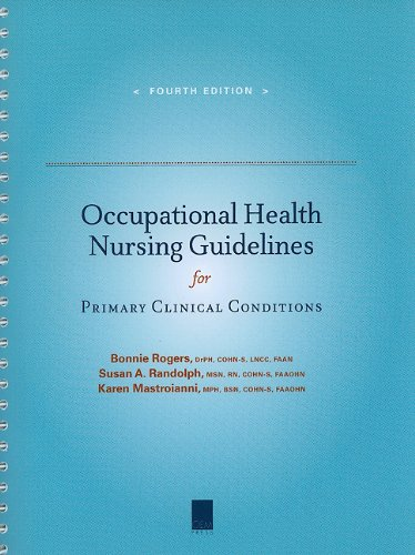 Occupational Health Nursing Guidelines for Primary Clinical Conditions - http://medicalbooks.filipinodoctors.org