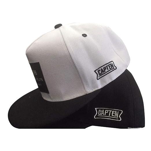 cc65756e Amazon.com: AMSKY Hat for Baby Boy Winter, Fashion Unisex Men Women Bboy  Hip Hop Adjustable Baseball Snapback Hat Cap Gift,Baby Boys' Gloves &  Mittens,Black ...