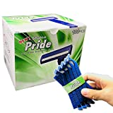 Shaico Pride Twin Blades Disposable Razors Bulk 100 Count/Shaver...