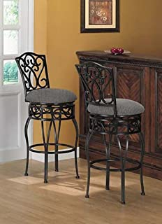 Amazon.com - Chase 24-inch 360 Swivel Counter Stools (Set of 2) - Chairs