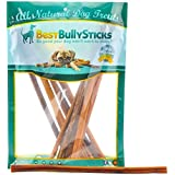 Best Bully Sticks Premium 6-inch and 12-inch Thin Bully Sticks All Natural Dog Treat Chews 12-inch Thin Bully Sticks (12 Pack)