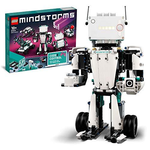 LEGO 51515 Mindstorms Robot Inventor y Kit de Robótica, Juguete Interactivo 5en1 Controlado por Aplicación, Coding Para…