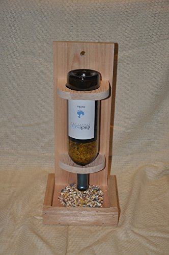 bird feeder wine bottle - 5