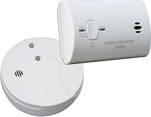 Kidde i9060 KN-COB-B-LPM Carbon Monoxide and Smoke Alarm Value Pack