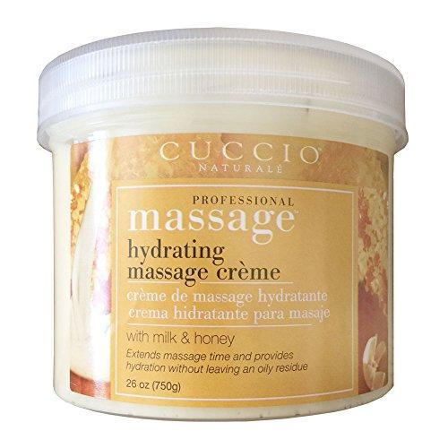 Cuccio Naturale Milk and Honey Hydrating Non-Oily Massage Creme 26 oz