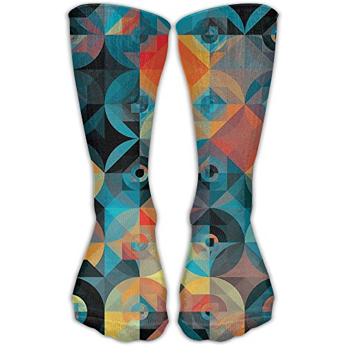 Graphic Women & Men Socks Soccer Sport Tube Stockings Length 30cm