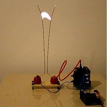 Jacob Ladder + ZVS módulo de fuente de alimentación de arco de alto voltaje, kit de experimentos para estudiantes: Amazon.es: Bricolaje y herramientas
