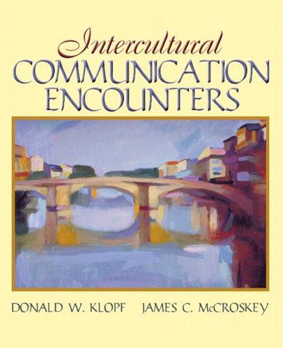 Intercultural Communication Encounters