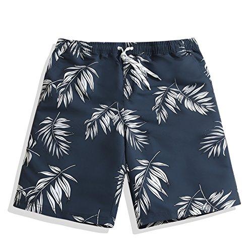 OME&QIUMEI Fast Dry Hose Männer Strand Sunny Beach Boxer Shorts Lose Feder Schwimmen Hosen Im Sommer
