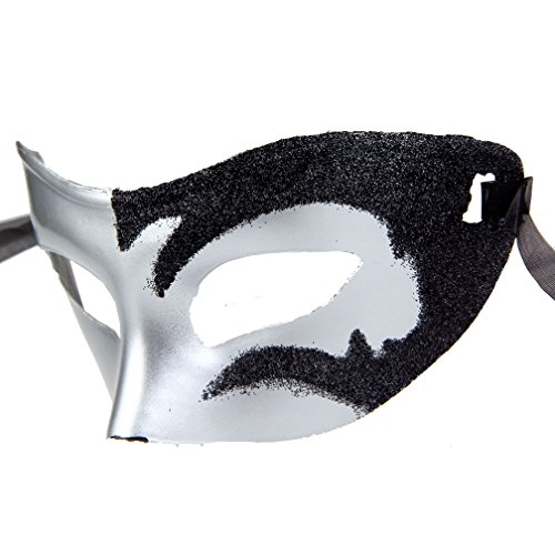 12pcs Set Evening Prom Venetian Masquerade Masks Costumes Party Accessory by IETANG (Image #7)