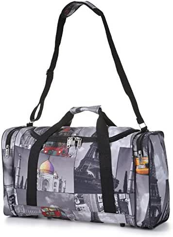 5 Cities Carry On Lightweight Small Hand Luggage Cabin on Flight & Holdalls