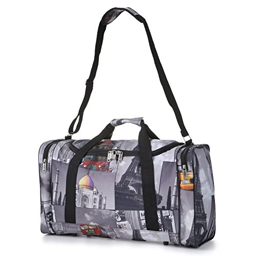 Carry On Lightweight Hand Luggage Flight Holdall Duffel Sports Gym Bag