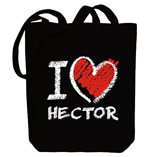 I Canvas Male Bag chalk Tote Names style Hector love Idakoos F0dvqTF