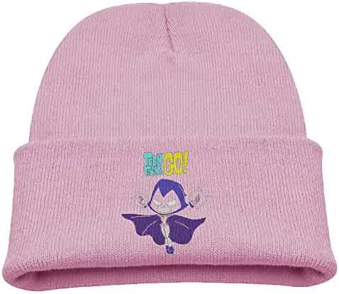 b02ffe21940 Teen Titans Go Raven Warm Winter Hat Knit Beanie Skull Cap Cuff Beanie Hat  Winter Hats