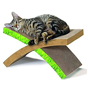 Cat Hammock Scratcher, Invironment Easy Life Cat Scratcher and Rest by Petstages