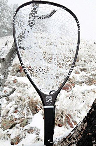 Stradalli 100% 3K Carbon Fiber Fly Fishing Landing Net 26
